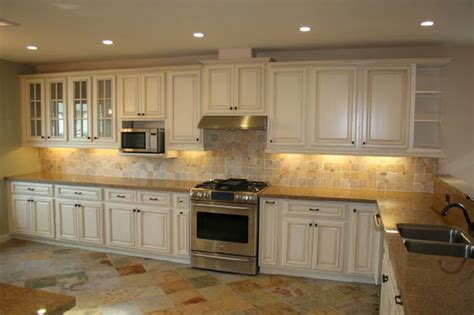 finishing kitchen cabinets antique white kitchen cabinets home design traditional