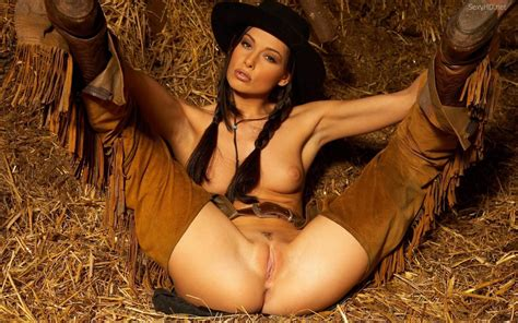 Wallpaper Girls Nude Cowgirl Pussy Legs Boobs Tits Brunette Evelyn P Desktop Wallpaper