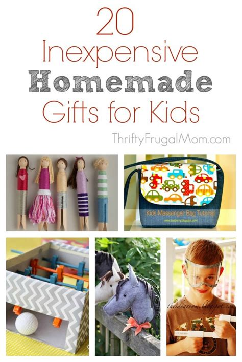 Handmade Gifts For Toddlers - 20 inexpensive gift ideas for