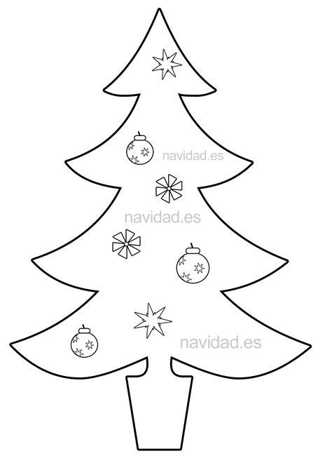 dibujos de arbol de navidad para colorear e imprimir 28