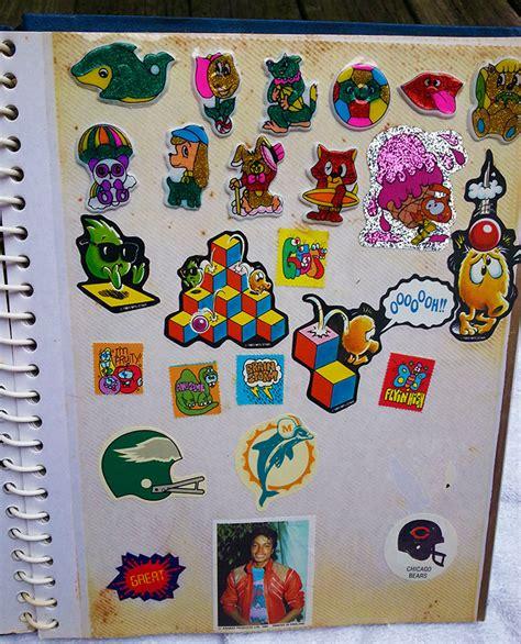 Sticker Collecting Album