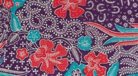 desain batik flora dan fauna 10 motif batik populer dari berbagai daerah good news