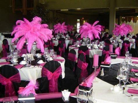 pink, black, white wedding cakes   Pink And Black Wedding