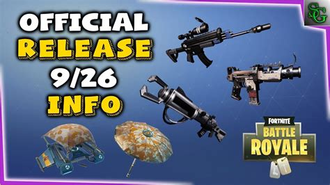 fortnite news fortnite news info update 1 6 3 battle royale
