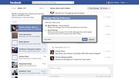 Fb Inbox | facebook will let people you don t know message your inbox