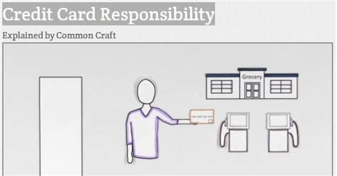 Credit Card Letter Of Responsibility My That S Credit Card Responsibility