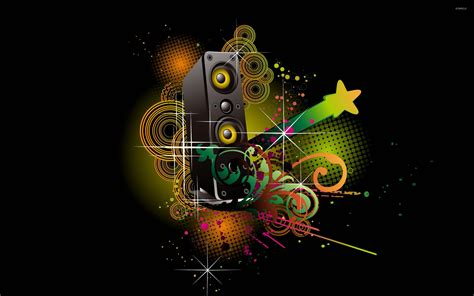 music speaker wallpaper desktop colorful speaker wallpaper music wallpapers 17310