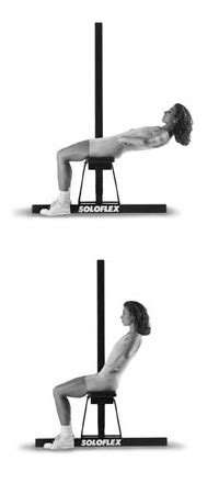 soloflex bench soloflex exercise machine exercises from soloflex poster