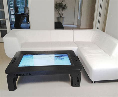 touchscreen coffee table computer