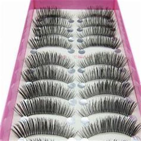 Eyelash F37 10boxes 100pairs professional make up false eyelashes