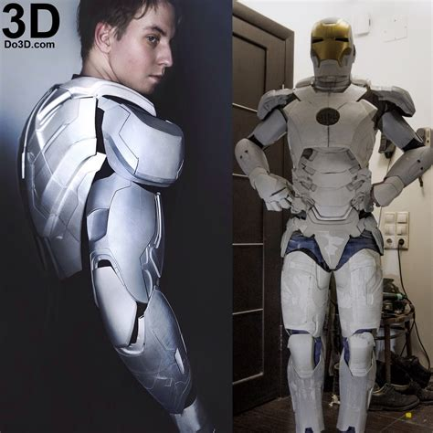 printable iron man armor 3d printable mark xlii armor model mk 42 suit from iron
