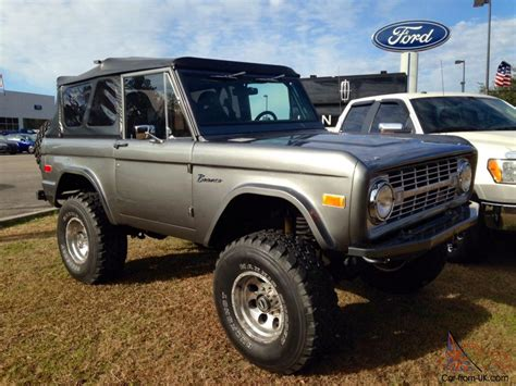 ford 5 0 crate motor 75 ford bronco restomod 5 0 ford racing crate motor c4