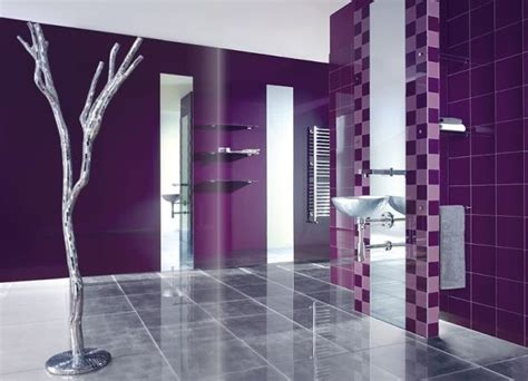 silver and purple bathroom purple silver bathroom indoor tree design bathroom