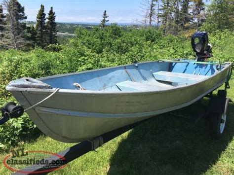 aluminum boats nl classifieds 12 aluminum pond boat conception bay south