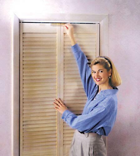 s helper bi fold closet door slide lok child