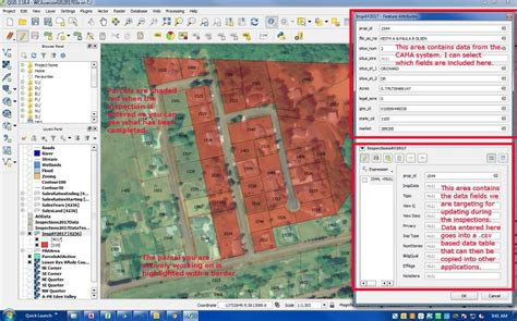 qgis tutorial parcel editing editing feature attribute values in joined non spatial
