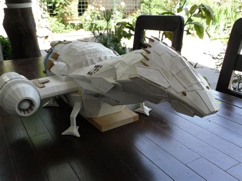 Firefly Papercraft - serenity model 4 by risziga on deviantart