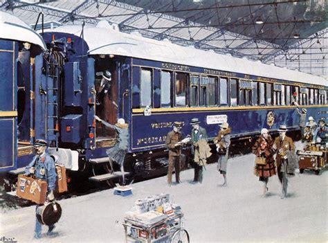 express in de simplon orient express in frankrijk gefotografeerd door