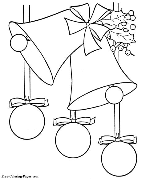 Christmas Coloring Pages Christmas Tree Tree Decorations Coloring Pages