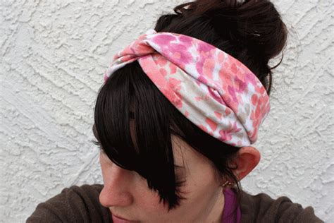 tutorial twisted turban beautiful twisted turban headband diy alldaychic