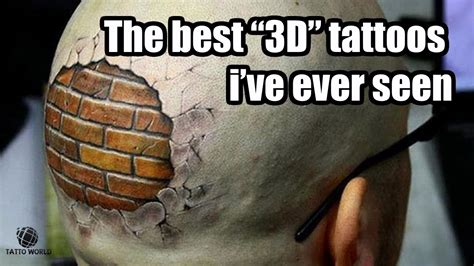 best 3d the best 3d tattoos i ve seen world
