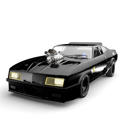 Mad Max Interceptor 3d Model