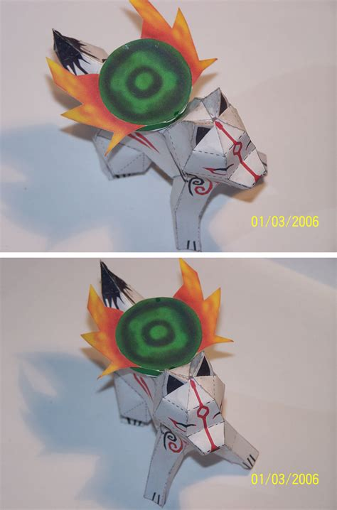 Amaterasu Papercraft - okami view papercraft by draco3013 on deviantart