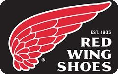 Shoe Gift Cards - red wing boots gift card boot 2017