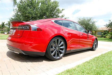 Model S P85 Tesla 2013 Tesla Model S P85 Multi Coat Pictures Dragtimes