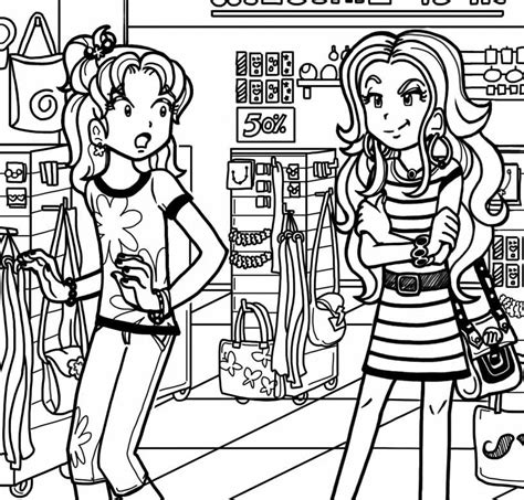 coloring pages vire diaries 5 best images of dork diaries printables posters dork
