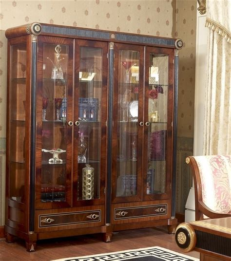 Reasonable Dining Room Sets by 2015 0010 Classic Furniture Wall Units Of Showcase Buy