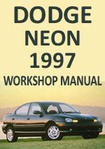 car repair manuals online free 1997 dodge neon head up display dodge neon 1997 workshop repair manual
