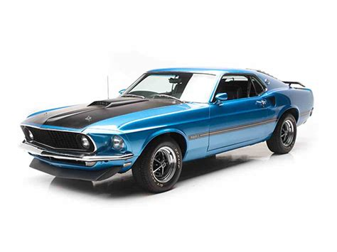 Ford Mustang Mach 1 by 1969 Ford Mustang Mach 1 For Sale Classiccars Cc