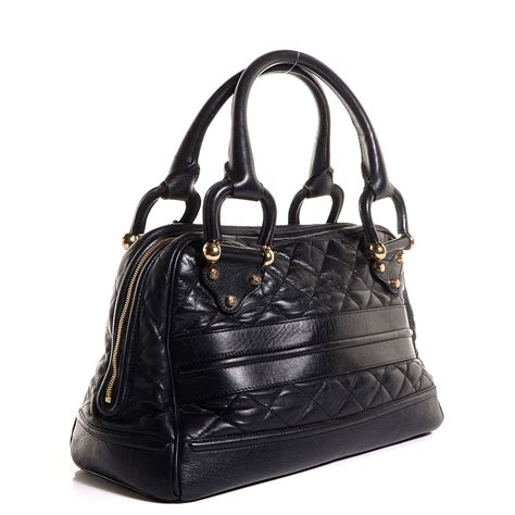 Burberry Quilted Tote by Burberry Quilted Leather Westbury Tote Black 88925