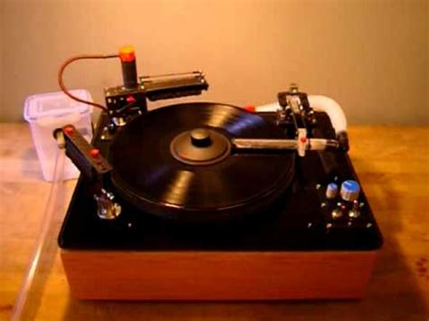 diy record cleaning machine diy record cleaning machine with rotary brush