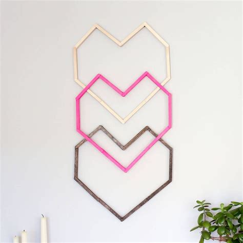 home decorative heart shape with ice cream sticks diy youtube 111 best ideas for tongue depressors images on pinterest