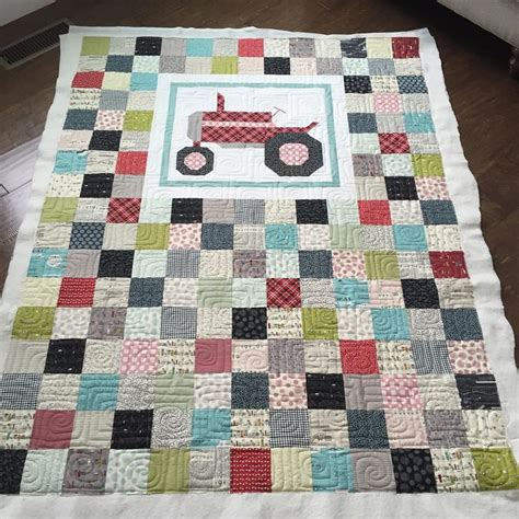 Farm Quilt Patterns by 25 Best Ideas About Tractor Quilt On Farm