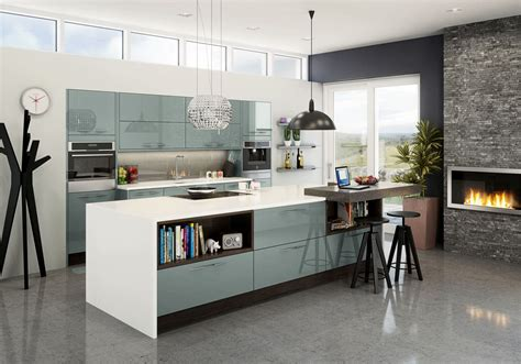 Kitchen Fusion by Fusion Kitchen In Blue Chagne White Magnet