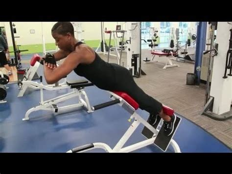 bench back workout the ab bench back extension training body sculpting