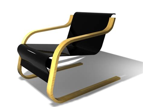 iconic chairs of 20th century famous design furniture of the 20th century 1930 s 3d