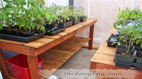 greenhouse benching greenhouse bench woodworking projects plans