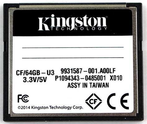 Kingston Compactflash Memory Card Ultimate 600x 90mbs 32gb Cf32g kingston compactflash ultimate 600x 64gb memory card