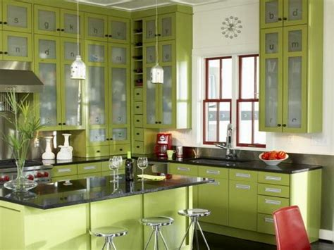 ideas to paint kitchen green colors to paint kitchen cabinets design of your