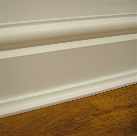 white floor beading woodland solid pine white base coated scotia trim save