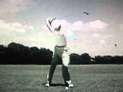 byron nelson golf swing byron nelson golf swing frame by frame 1945 youtube