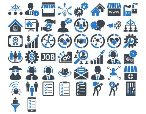 vector business icons set royalty free stock photos image 1095468 business icon set stock vector image 56421248