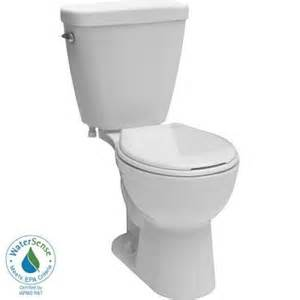 home depot bathroom toilets delta prelude 2 1 28 gpf front toilet in white