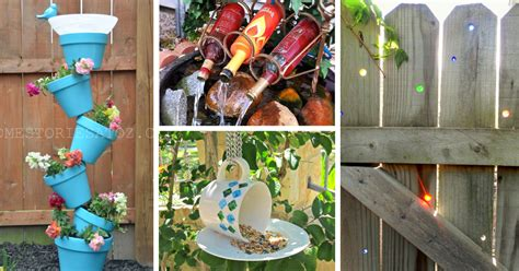 diy craft projects for the yard and garden diy yard crafts