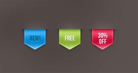 psd web ribbon sale label vol  psd web elements pixeden