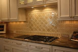 Tile Backsplash In Kitchen by Glazed Porcelain Tile Backsplash Traditional Kitchen